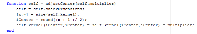 Adding a dc component to autohalftoning kernels