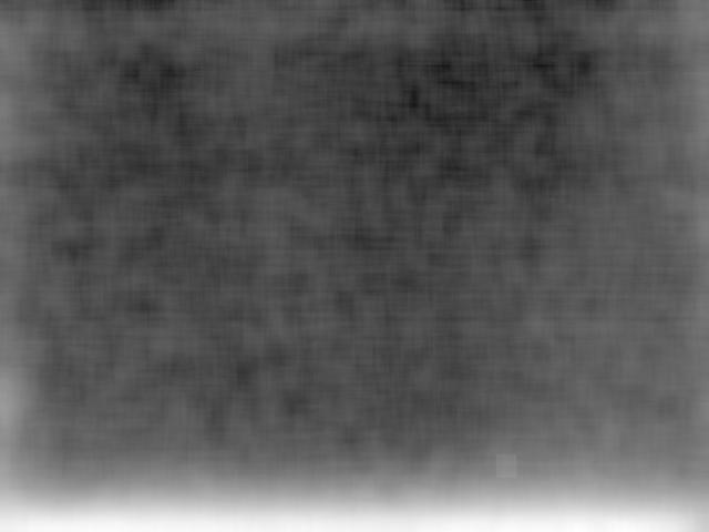 Uncorrected Image, square kernel, 216 pixels