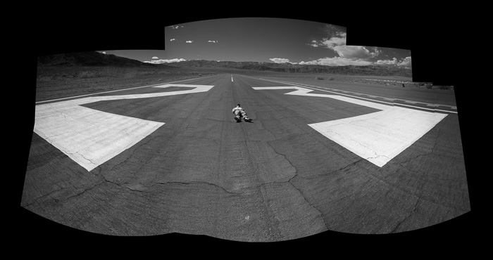 Siesta time at Stovepipe Wells Airport