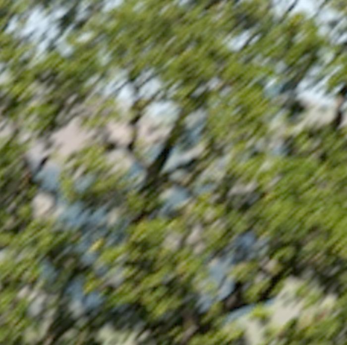 8 pixel motion blur -- MTF 50V = 416, MTF50H = 397