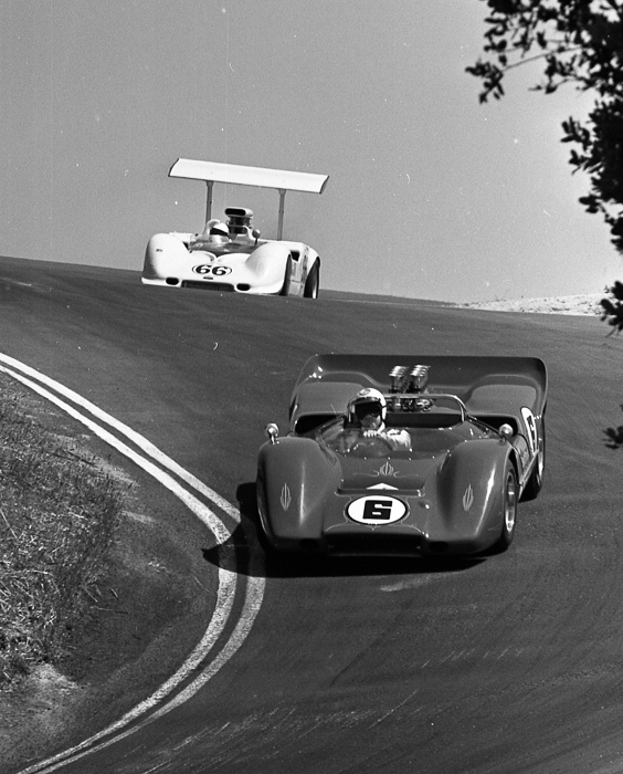 Mark Donohue, Jim Hall