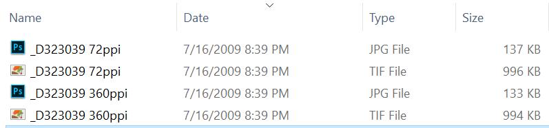 file-sizes