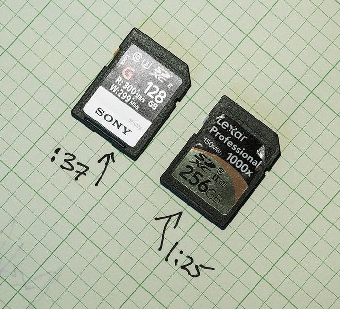 Sony a9 write speed