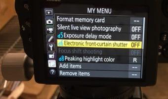Nikon D850 focus shift with 105/1.4