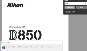 Nikon D850 autofocus accuracy — summary